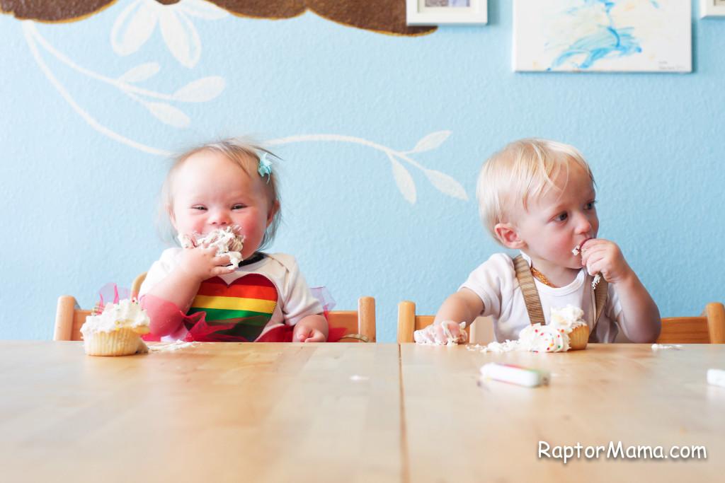 twin cupcake